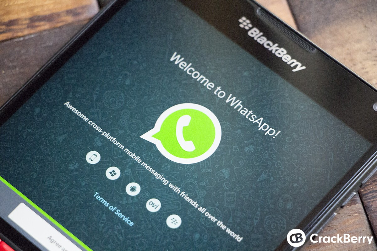 Reminder: Update WhatsApp on BlackBerry 10 to ensure it continues to work WhatsApp Generic Passport