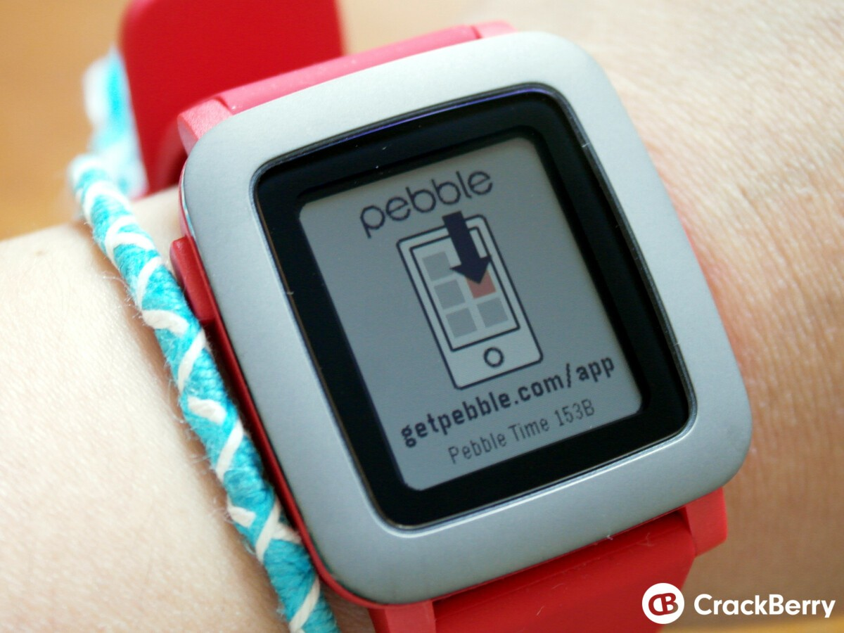 Pebble Time startup