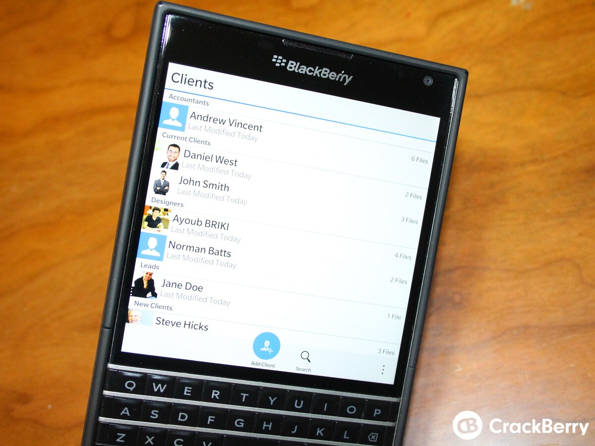 BBB File - BlackBerry Backup File