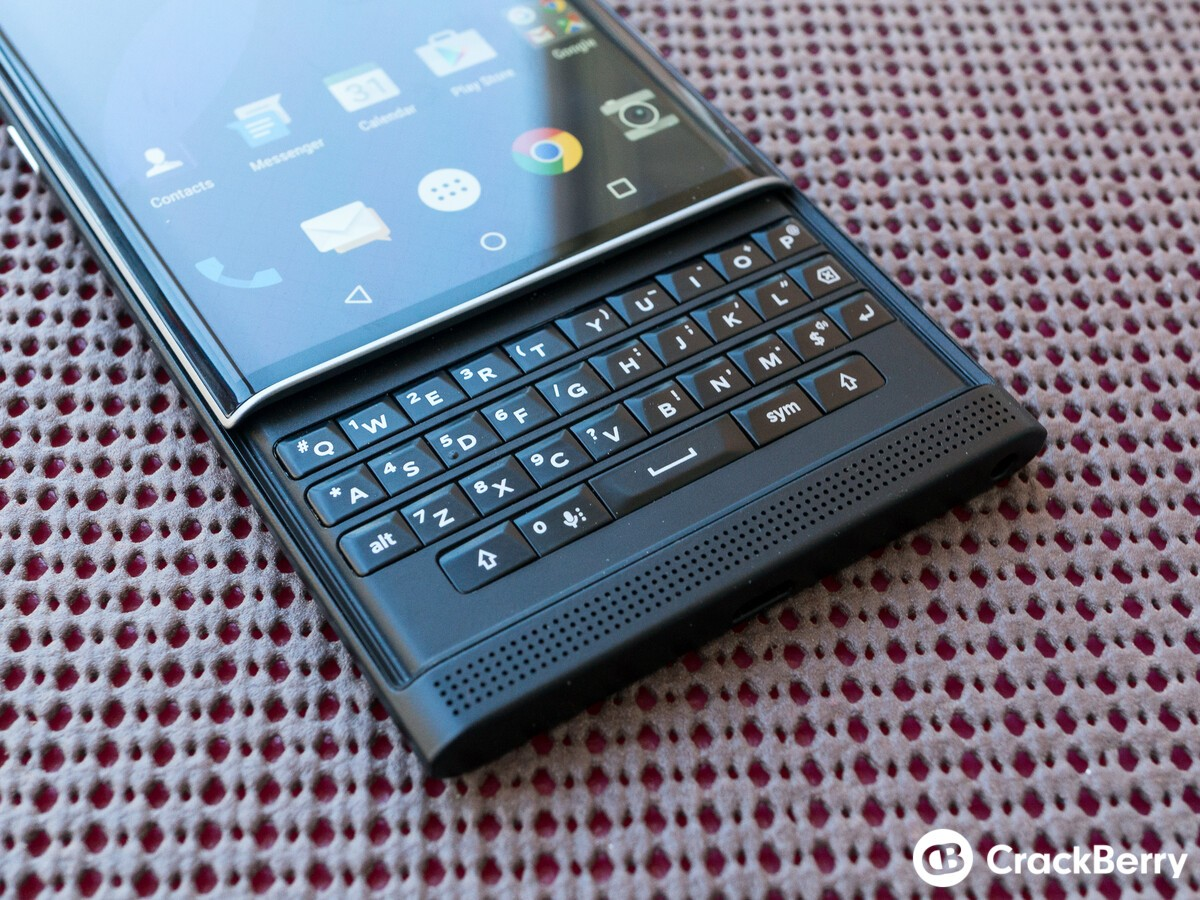 Most Priv owners are using a balance of both the physical and virtual keyboard
