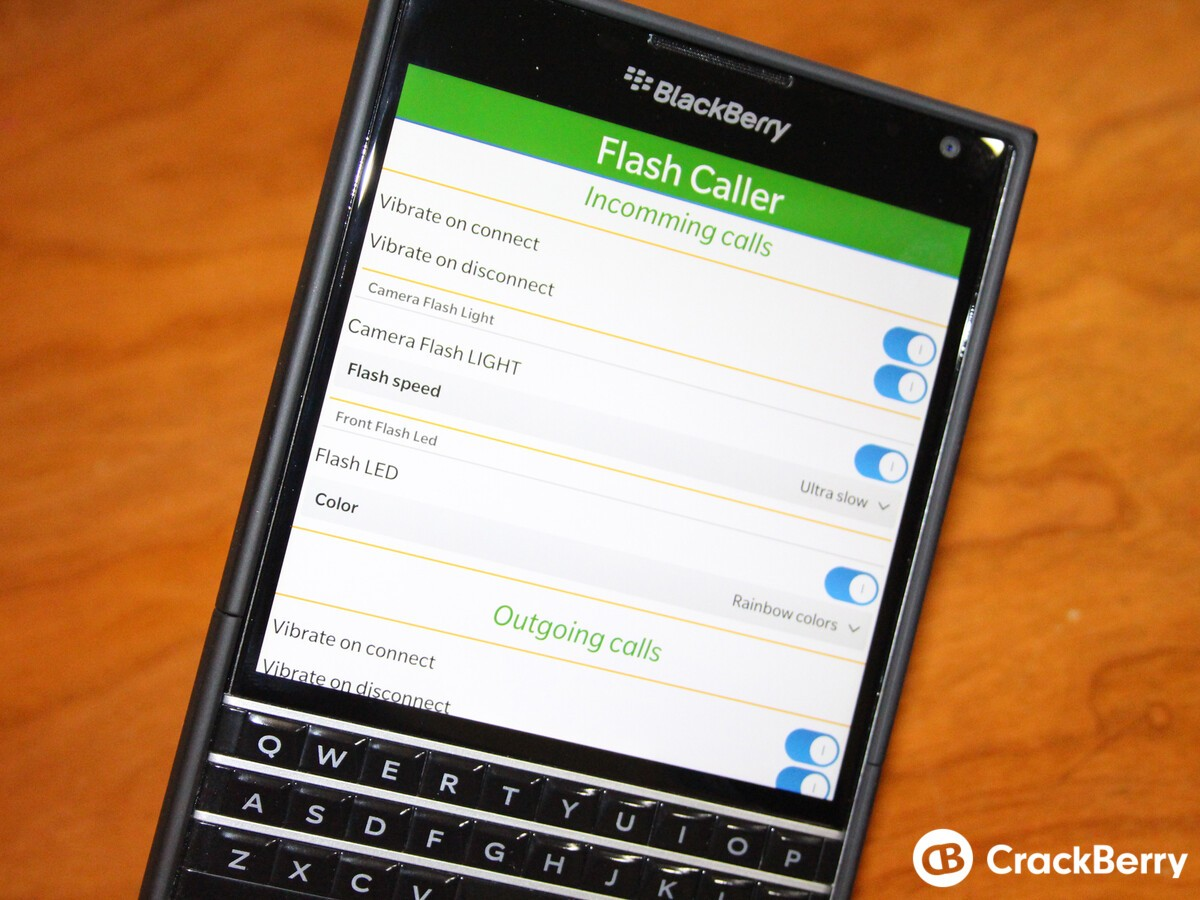 Flashcaller adds holster mode and name in hub notification in latest update