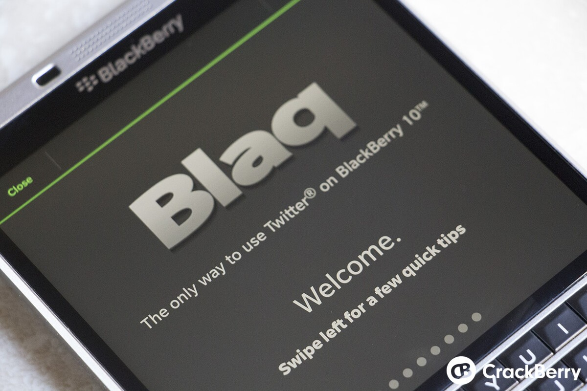 Blaq update brings new Quote Tweet option, adaptive theme and more