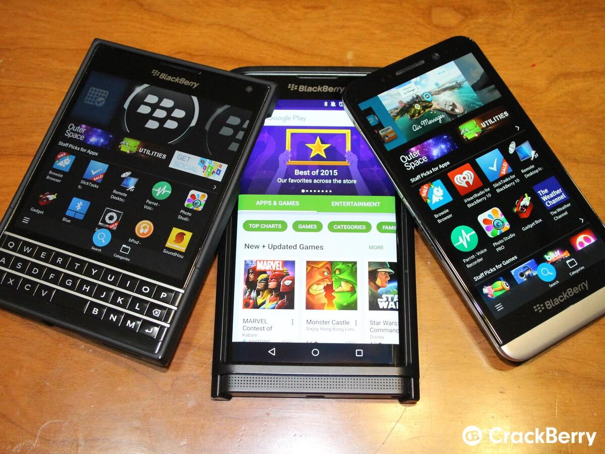 BlackBerry App Roundup 12/18/15