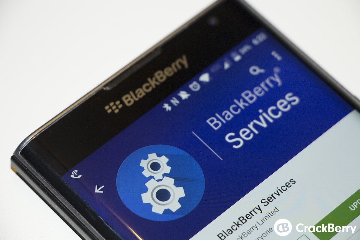 BlackBerry Services for the Priv updated with minor bug fixes