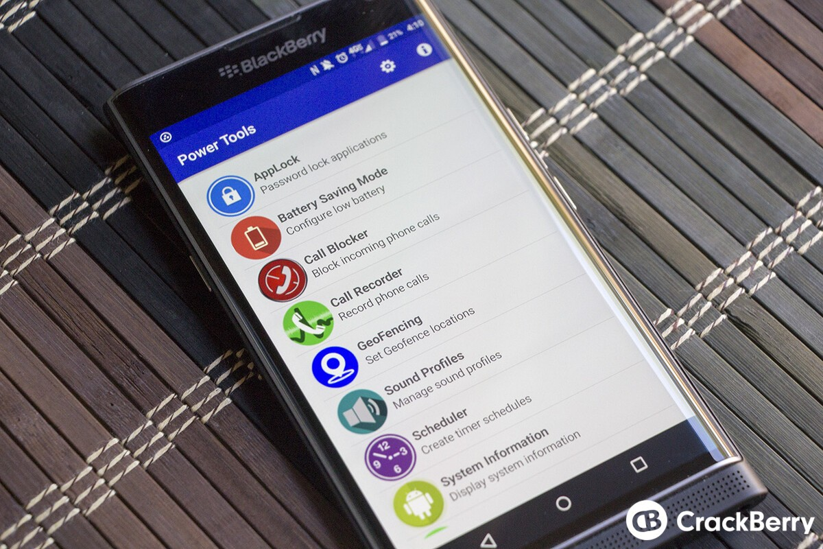 Power Tools for Android updated with Speak SMS, Email Filters, and Good Morning capabilities