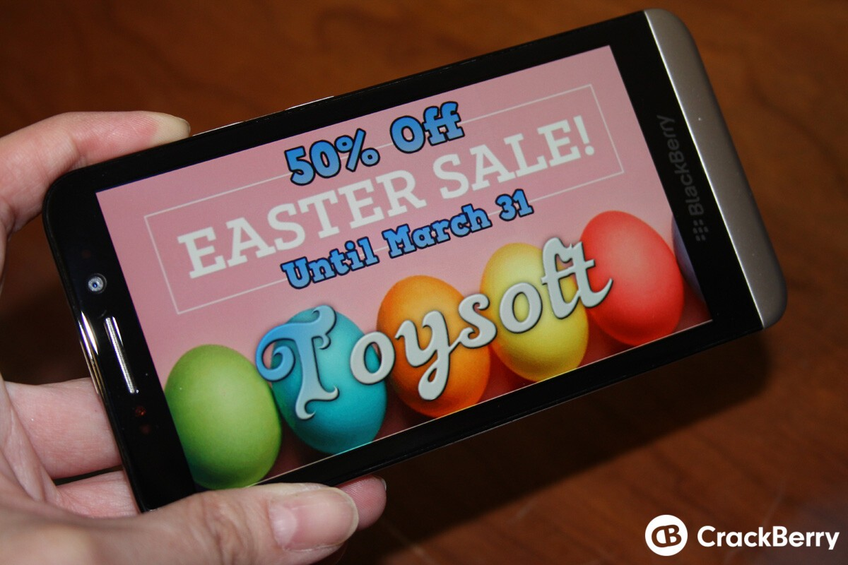 Toysoft Easter Sale – Grab select apps for 50% off