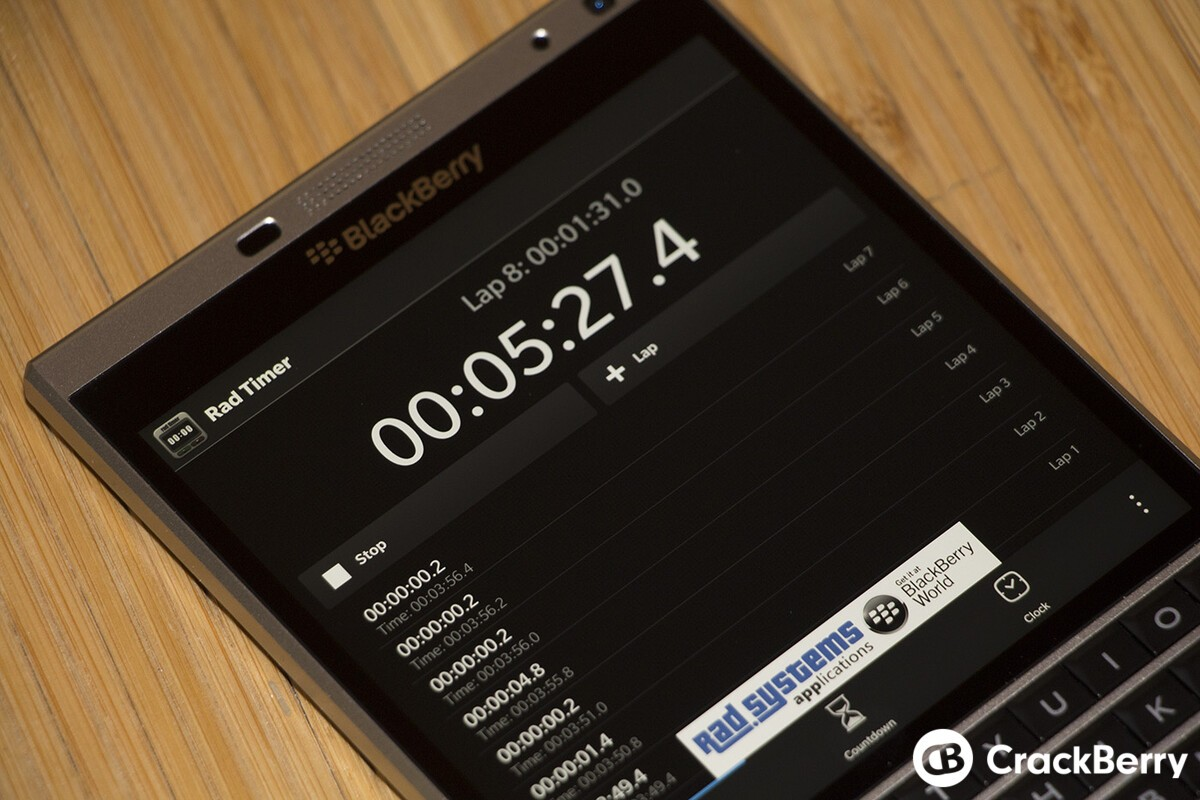 Rad Timer is the app you need if you want interval timer function