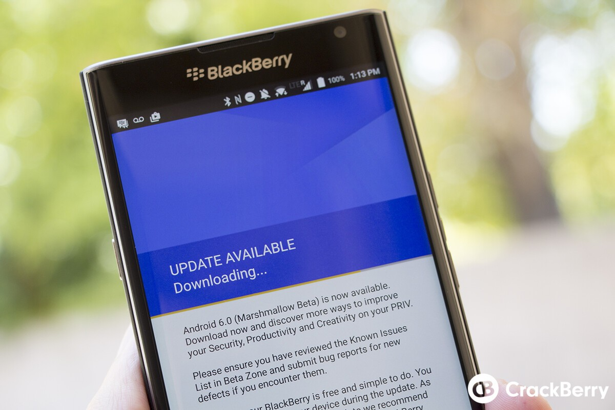 Latest BlackBerry Android beta now available to most Priv owners