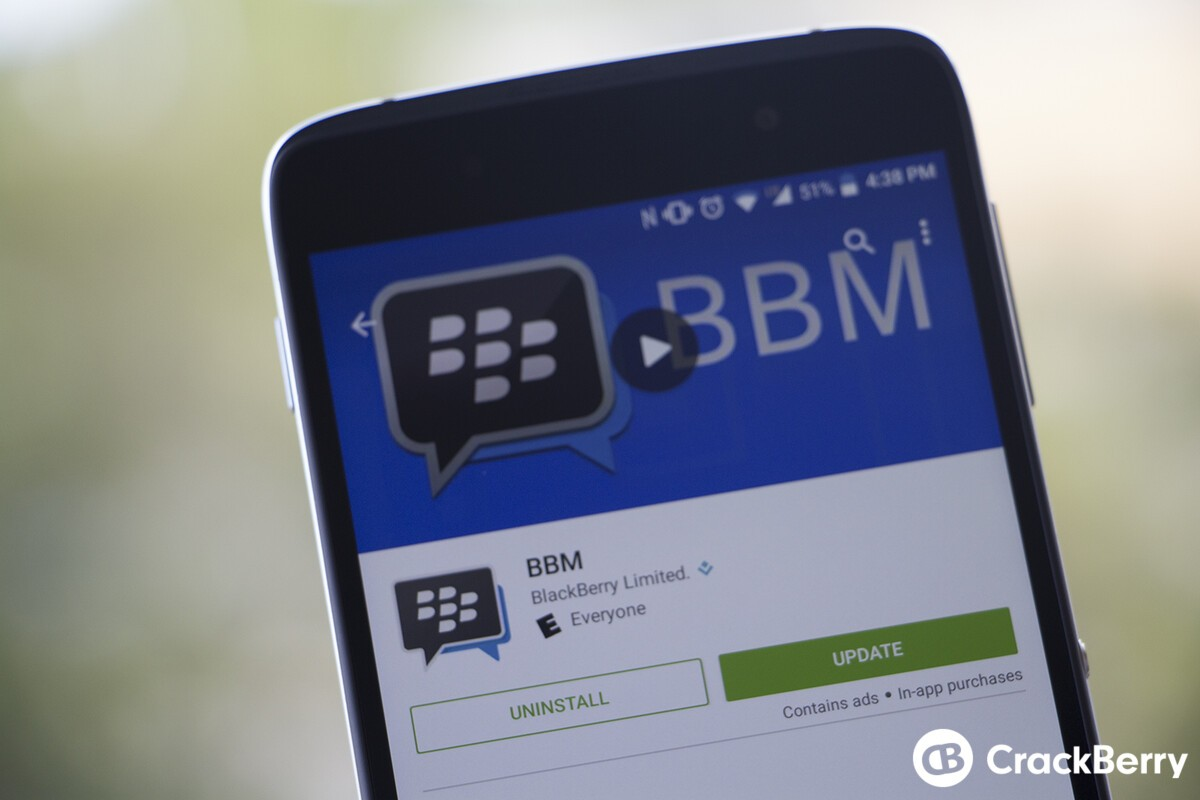 Latest BBM for Android update now available through Google Play