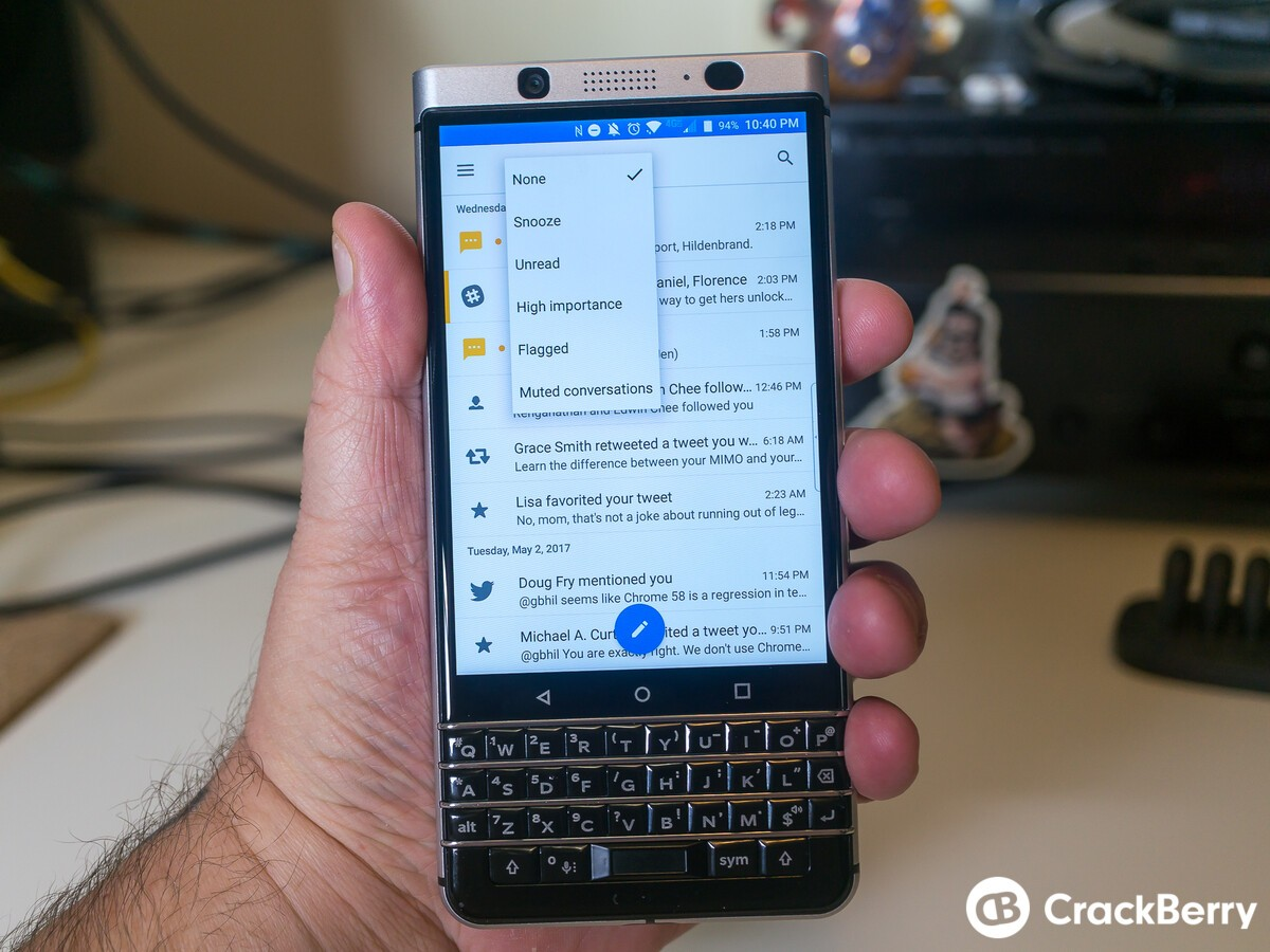 how to delete blackberry contacts list classic