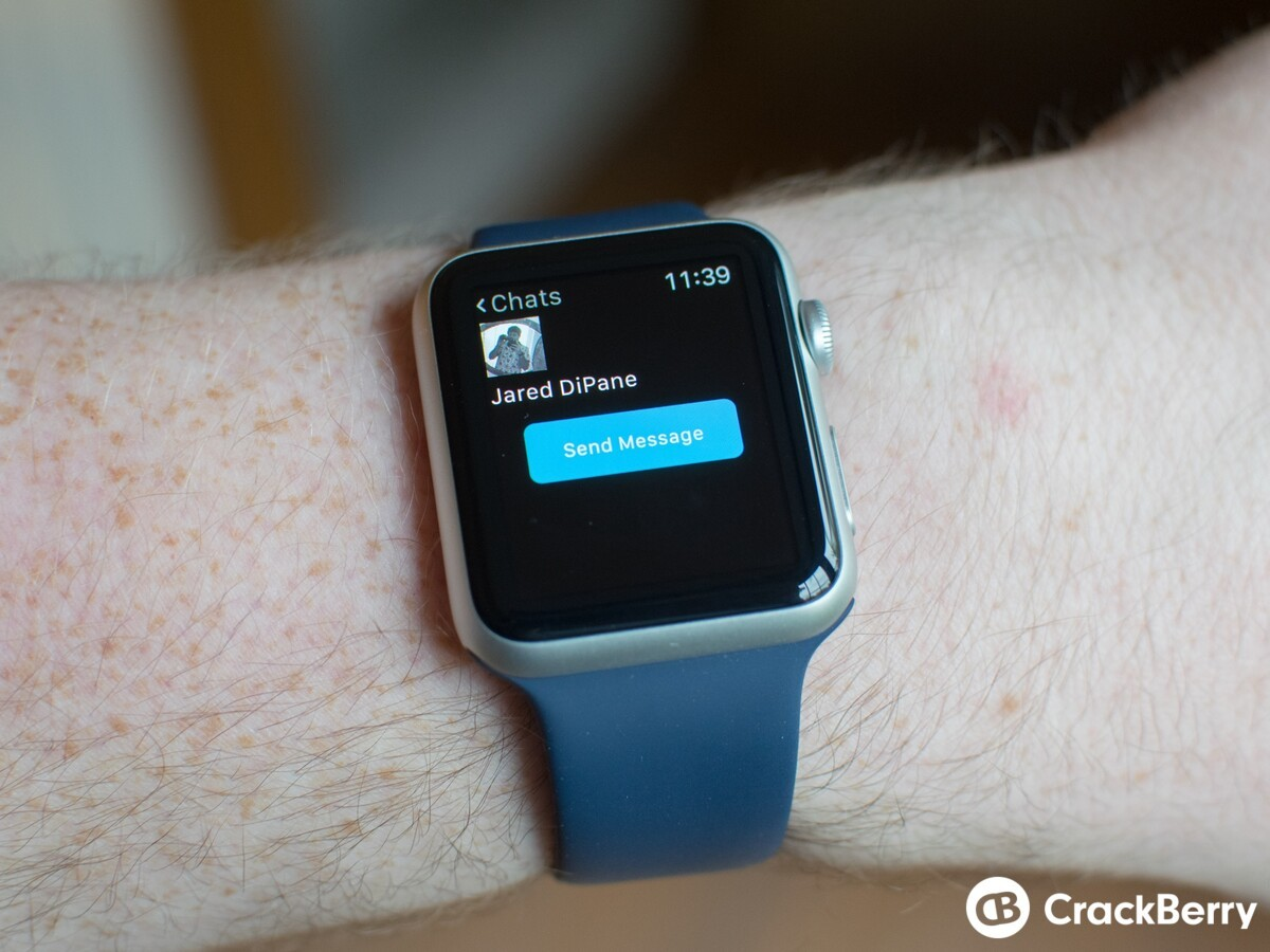 BBM for iPhone gains Apple Watch and quick reply support