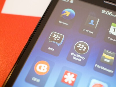 BBM on the BlackBerry Z3