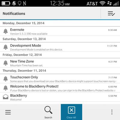 BlackBerry Classic Highlight
