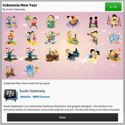 Indonesia New Year