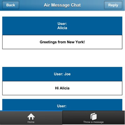 Air Messages Chat