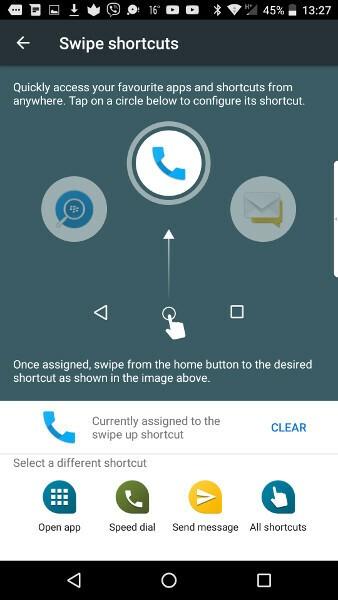 Swipe Shortcut Step 4