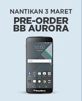 BB Merah Putih built BlackBerry-branded device now has a name - BB Aurora