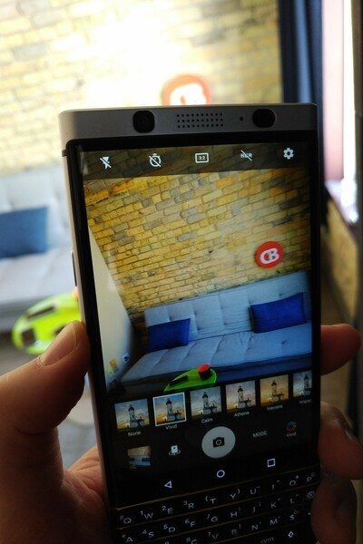 BlackBerry KEYone Review – Pushes All The Right Buttons blackberry keyone camera app