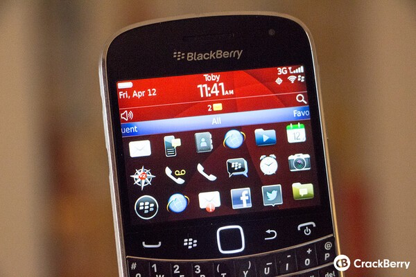 Official OS 7 1 0 923 for the BlackBerry Bold 9900 from