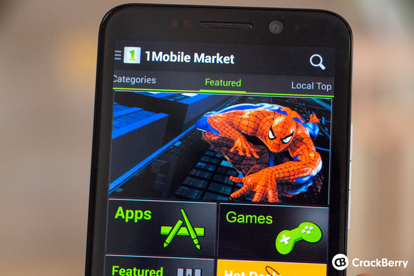 How to download and install Android apps using the 1mobile