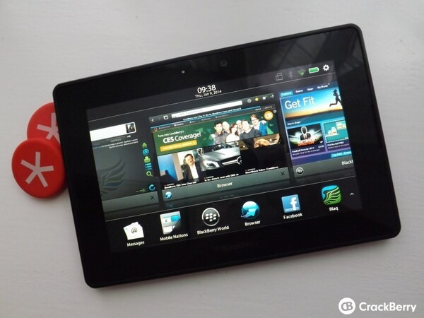 BlackBerry PlayBook updated to OS 2 1 0 1917   CrackBerry com