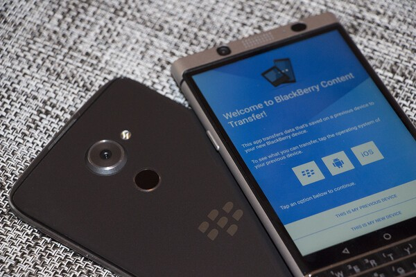 How to switch from another Android device to the BlackBerry
