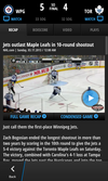 NHL GameCenter for BlackBerry 10