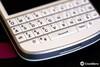 White BlackBerry Q10 Keyboard