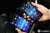 There have been some design changes with the Z3 as compared to previous BlackBerry smartphones (here with a Z30), but it