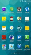 Samsung Galaxy S5 app drawer