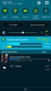 Samsung Galaxy S5 Download Booster