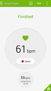 Samsung Galaxy S5 heartrate BPM