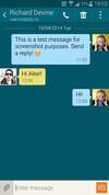 Samsung Galaxy S5 sms