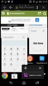 Sony Xperia Z2 multitasking