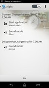 Sony Xperia Z2 action settings