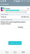 LG G3 battery usage