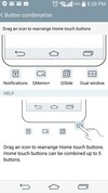 LG G3 buttons settings