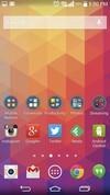 LG G3 home screen