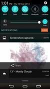 LG G3 notifications