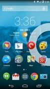 OnePlus One Holo UI home screen