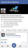 Face10 for BlackBerry 10