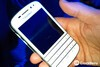The Q10 has a similar look to the popular Bold 9900, minus the trackpad and buttons and with a straightened out keyboard