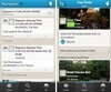 BlackBerry 10 Foursquare app