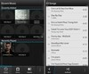 BlackBerry 10 music player