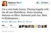 Stephen Fry, Actor/Writer