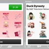 Pink Panther and Duck Dynasty stickers arrive in the BBM Shop