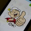 Well blow me down, Popeye stickers arrive in the BBM Shop