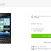 TELUS offering the BlackBerry Passport for $150 on contract but only in certain regions