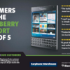 BlackBerry and Carphone Warehouse team up for '5-Stars' Passport campaign