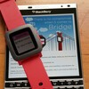 Use the Pebble smartwatch with BlackBerry 10 and the Bridge app